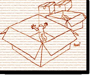 Cajas de cartón, Francisco Jiménez